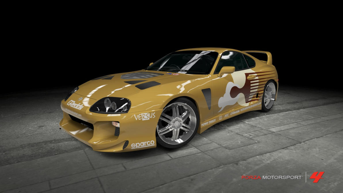 Mitsubishi Eclipse Cost >> Toyota Supra Mk IV - 2 Fast 2 Furious by OutcastOne on DeviantArt