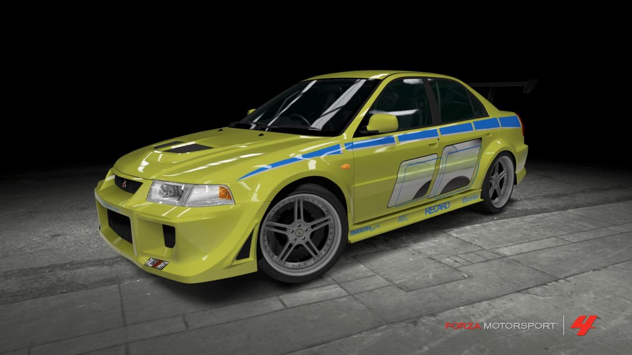 Mitsubishi Evolution Vi 2 Fast 2 Furious By Outcastone