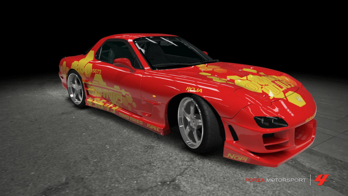 Mazda RX 7   2 Fast 2 Furious By OutcastOne ...