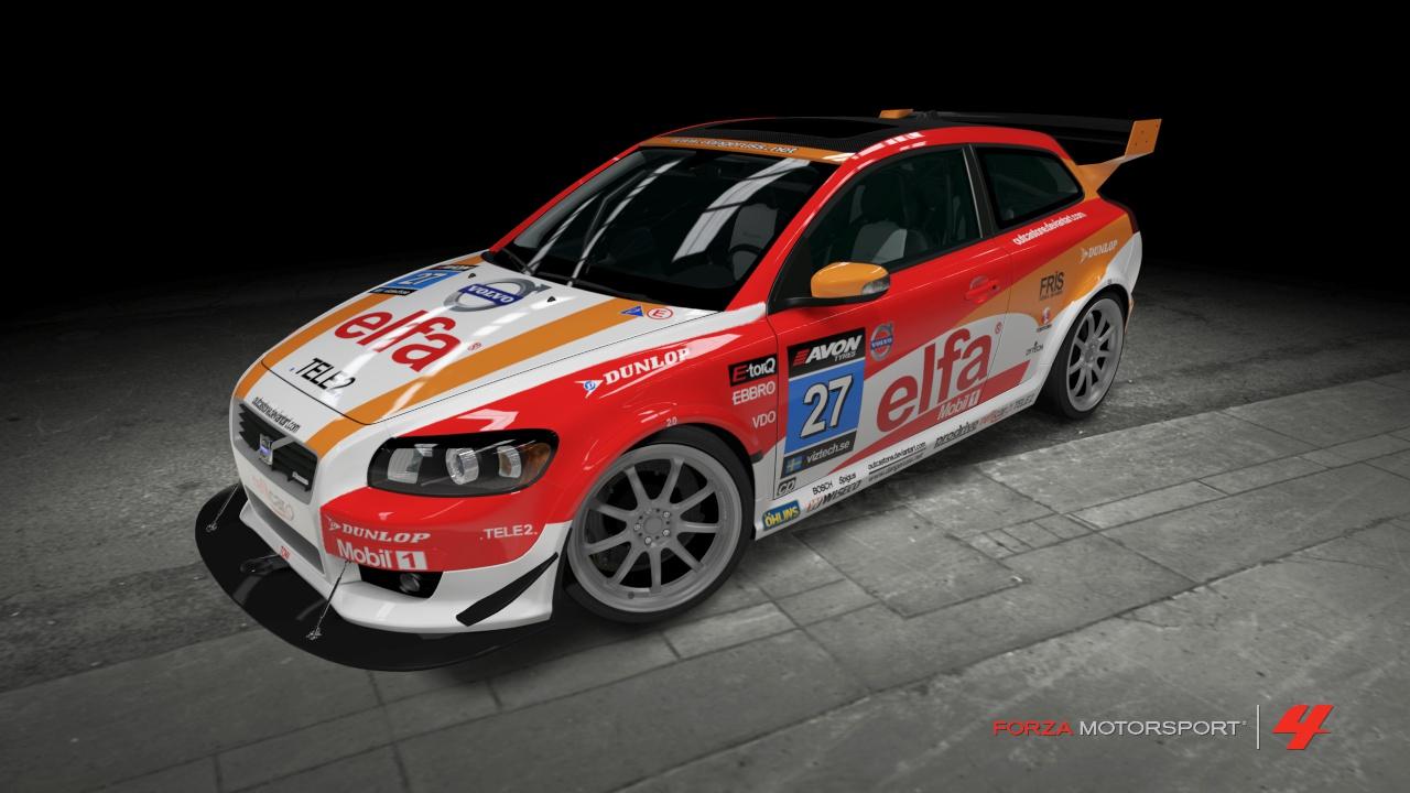Volvo C30R #27 Elfa Race Car by OutcastOne on deviantART