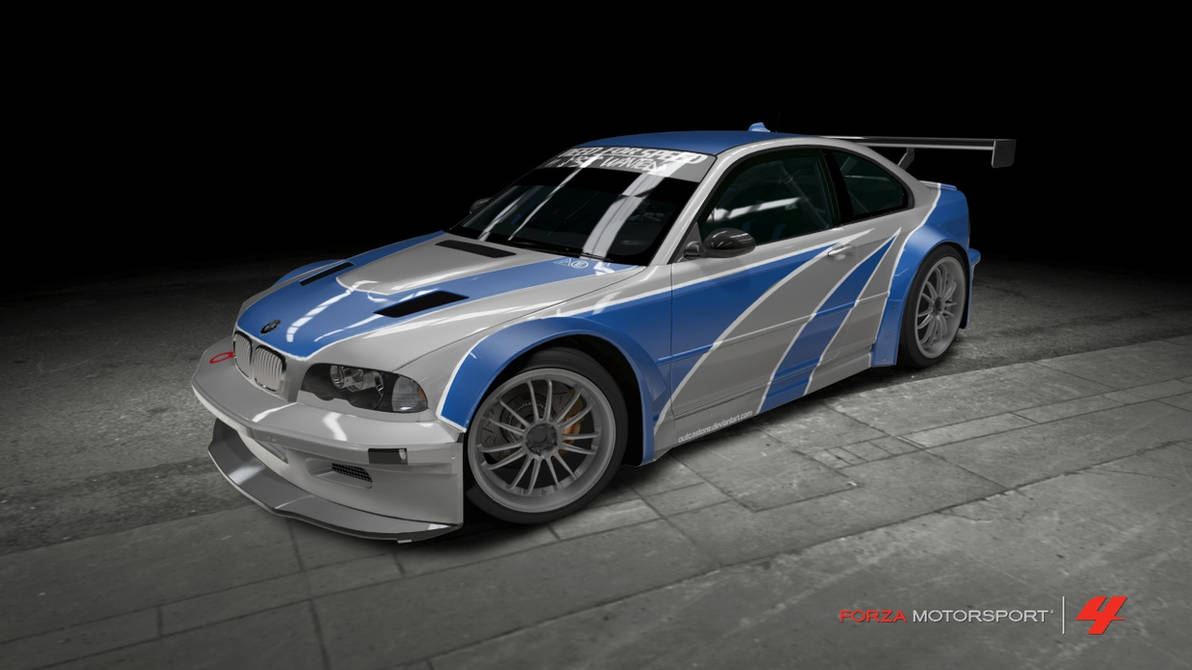 BMW M3 GTR - Need For Speed: Most Wanted by OutcastOne on ...
