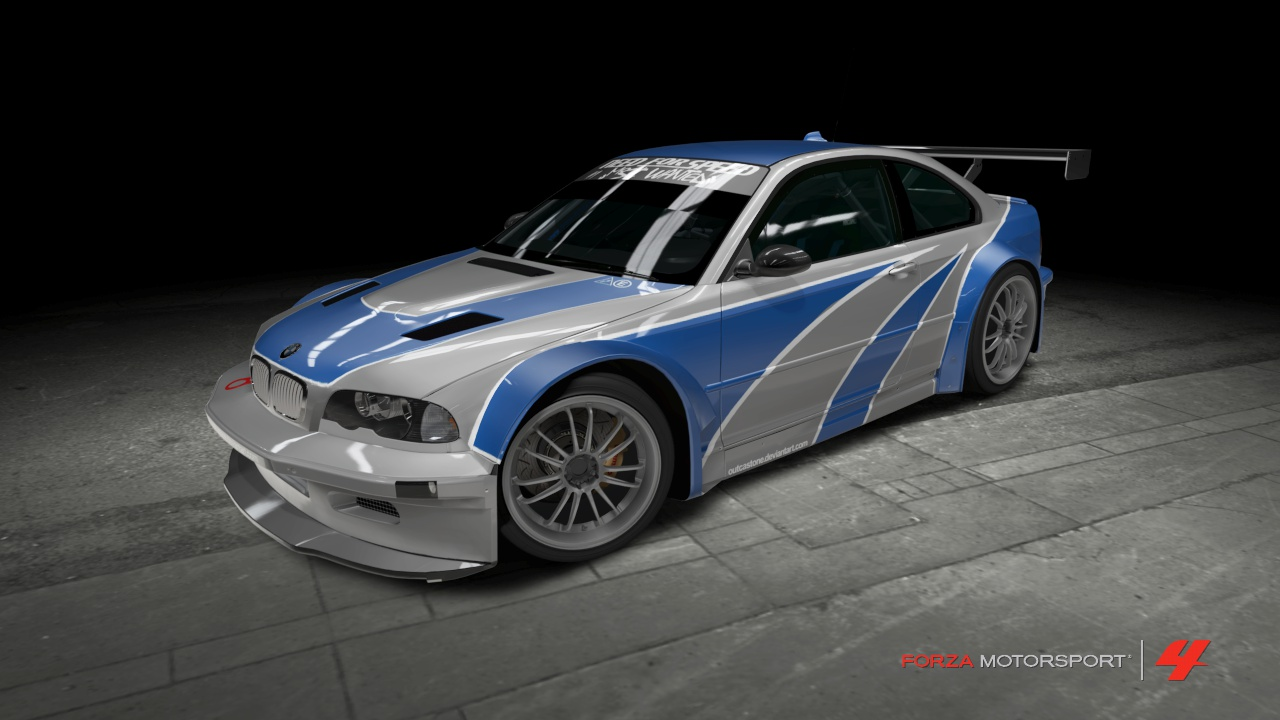 Bmw m3 gtr need for speed most wanted by outcastone
