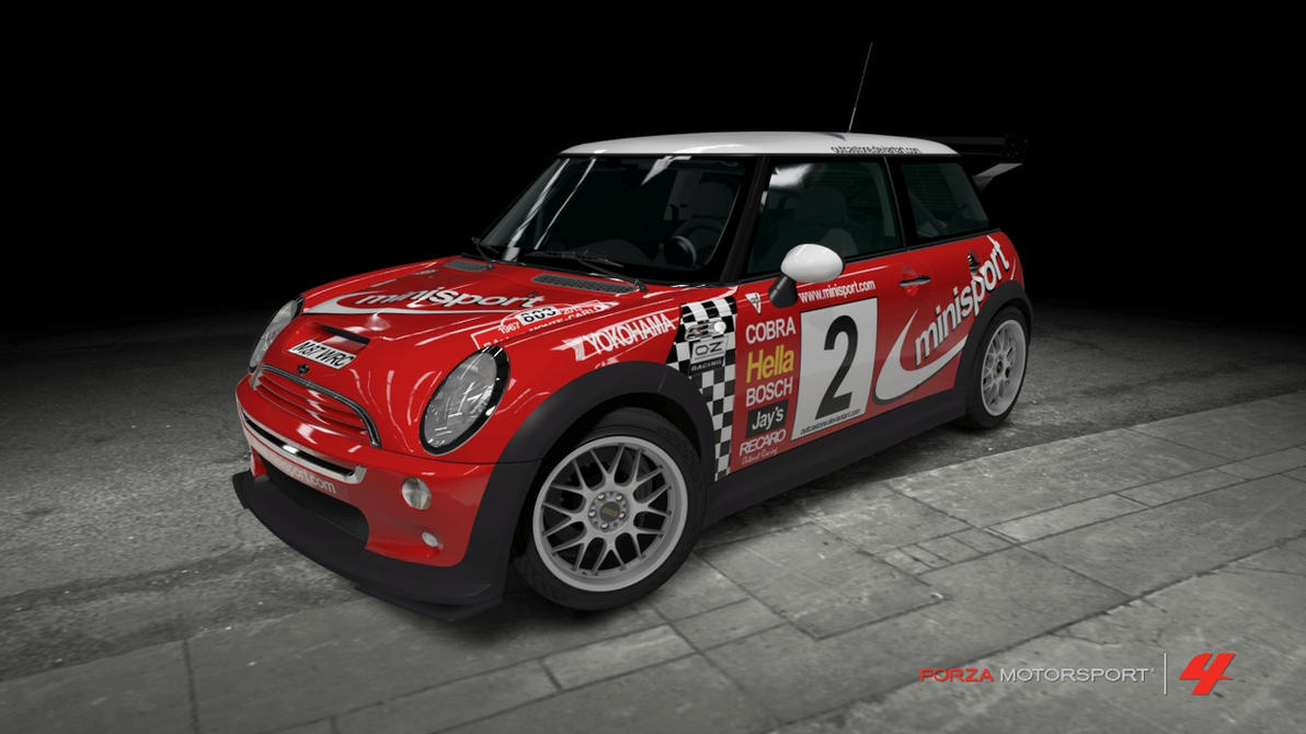 Mini Cooper S Rally Car by OutcastOne on DeviantArt