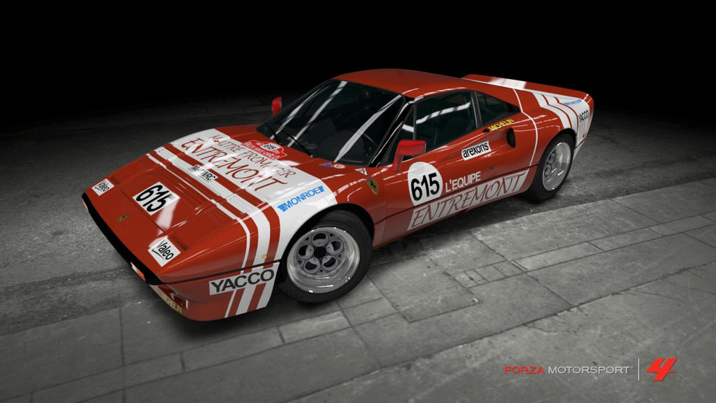 Ferrari 1984 Gto Rally Car By Outcastone On Deviantart