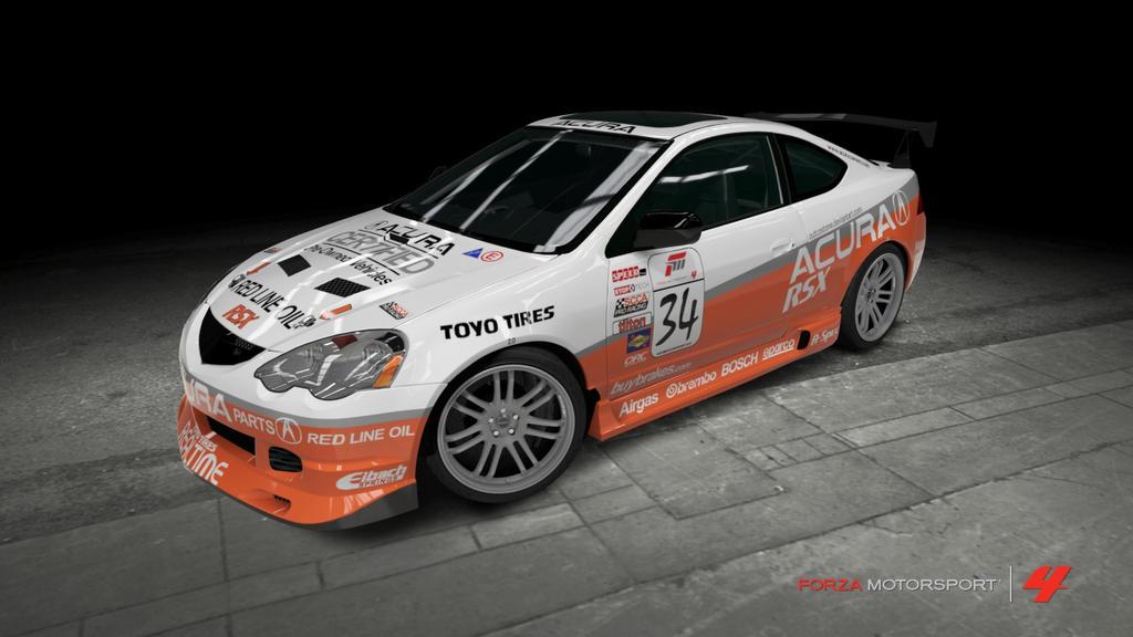 Acura RSX TypeS Race Car By OutcastOne On DeviantArt - Acura rsx car parts
