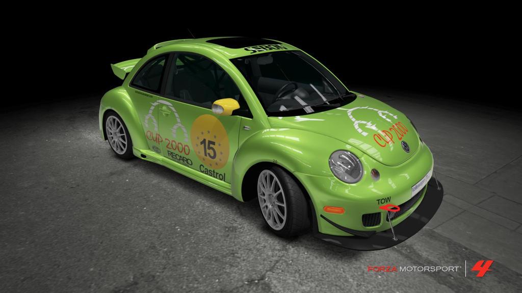 volkswagen new beetle cup car by outcastone on deviantart. Black Bedroom Furniture Sets. Home Design Ideas