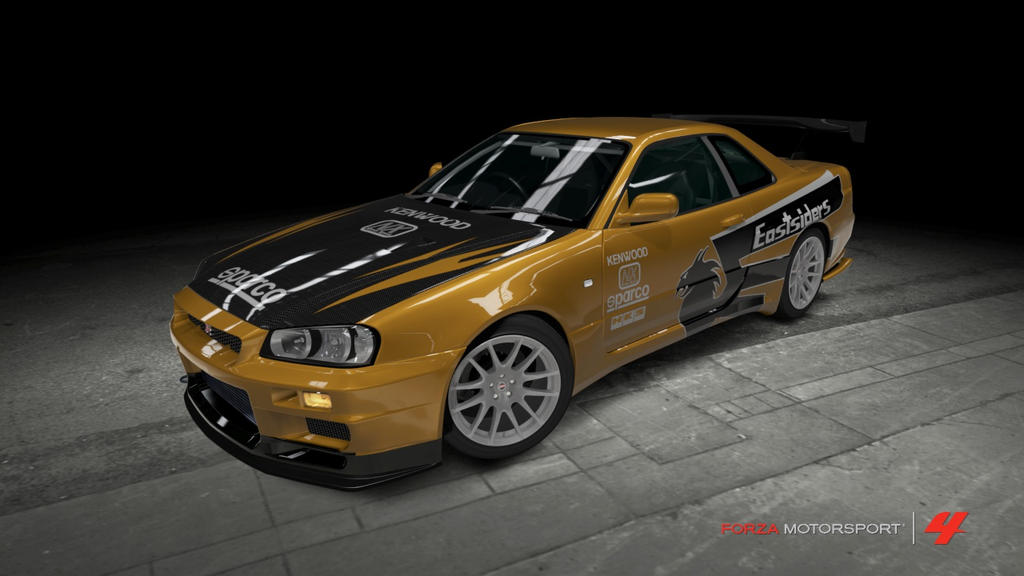Nissan skyline gt r need for speed underground by - Need for speed underground 1 wallpaper ...