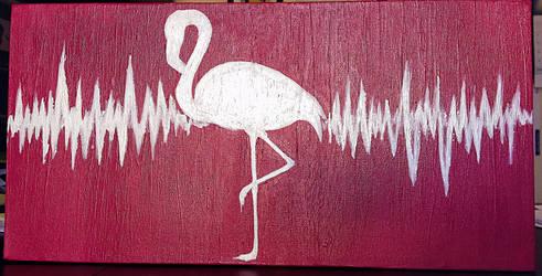 Flamingo love by KassyOh