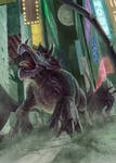 Awaken Destruction - Triceratops