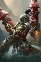 Goblin Bazooka by PhanouArt