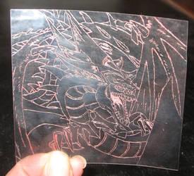 Slifer the sky dragon by hazeldazel