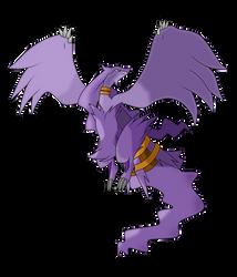 Purple Reshiram 1 by WhiteWolfBlanca