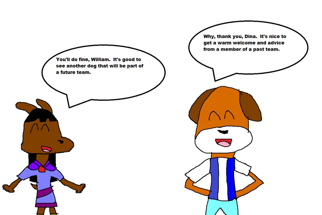 Dina Meeting William by JCFanfics