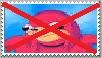 Anti-Ugandan Knuckles Stamp by JCFanfics