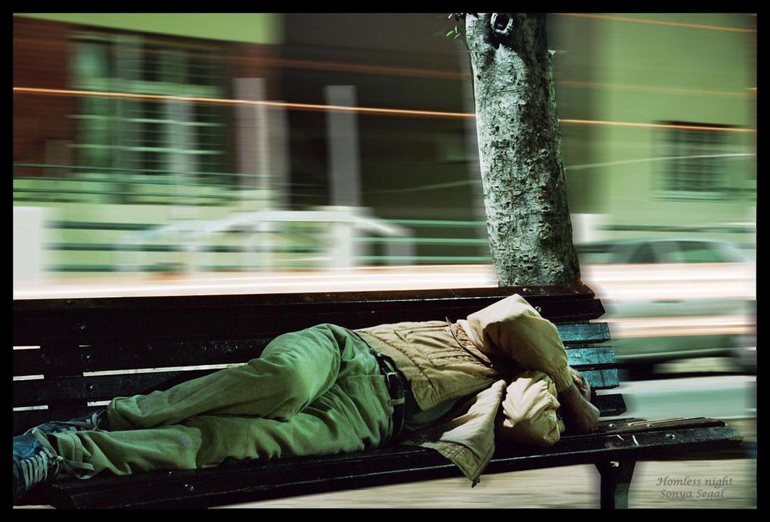 Homeless Night by Sonjaaaa