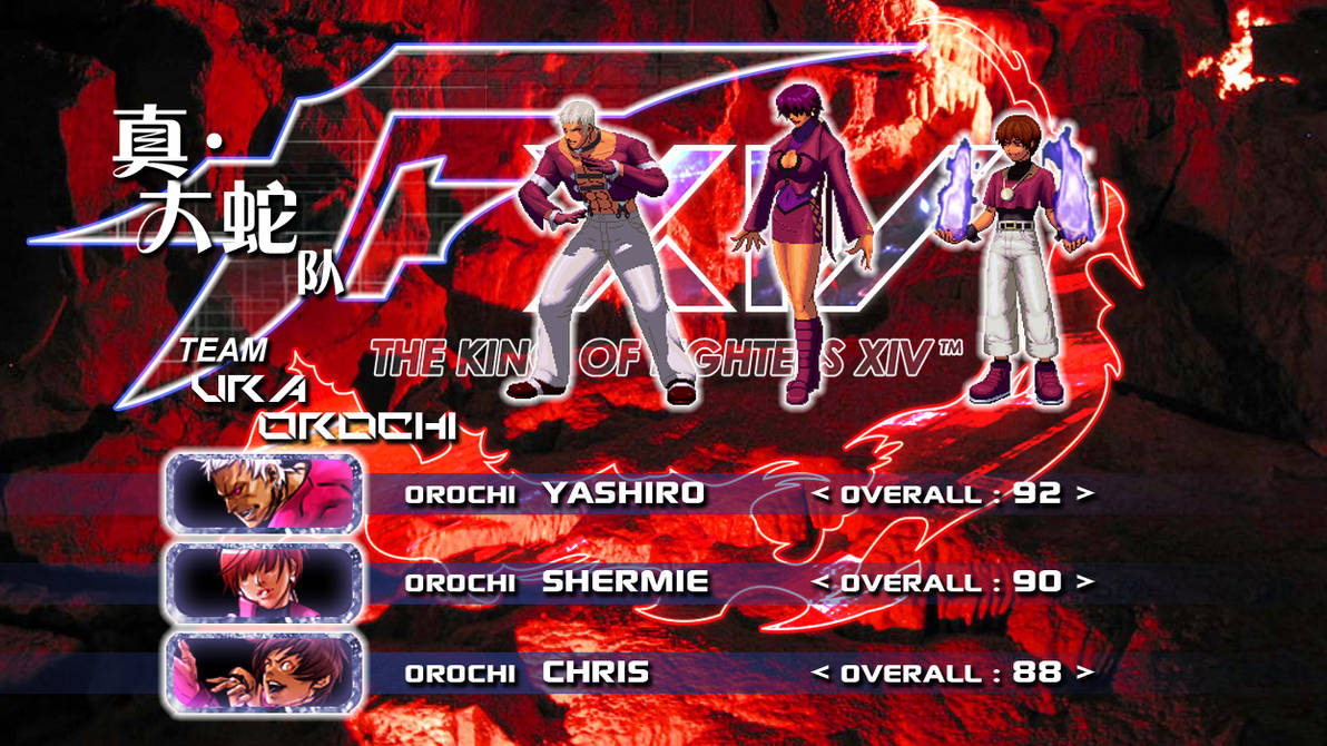 Image result for kof xiv new face team