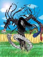 Orochimaru cosplays Alucard by FrankMR
