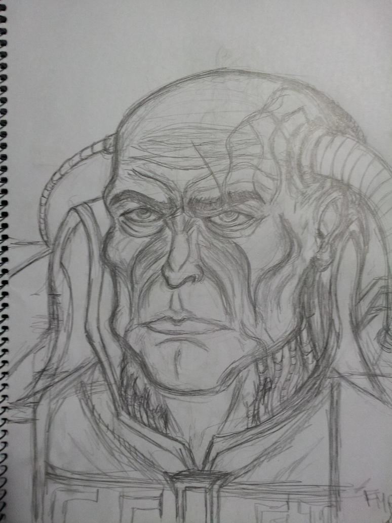 Inquisitor Gregor Eisenhorn by fmralchemist