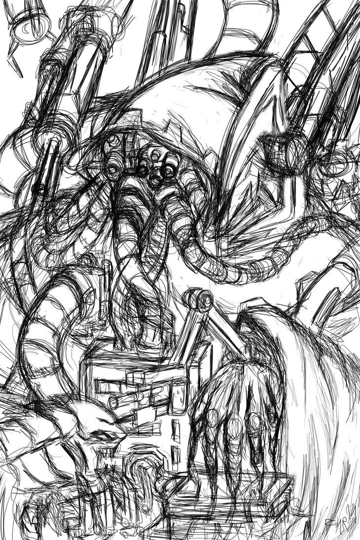 Magos Biologis Sketch by fmralchemist