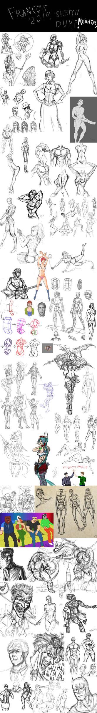 2014 Sketchdump Digital by fmralchemist