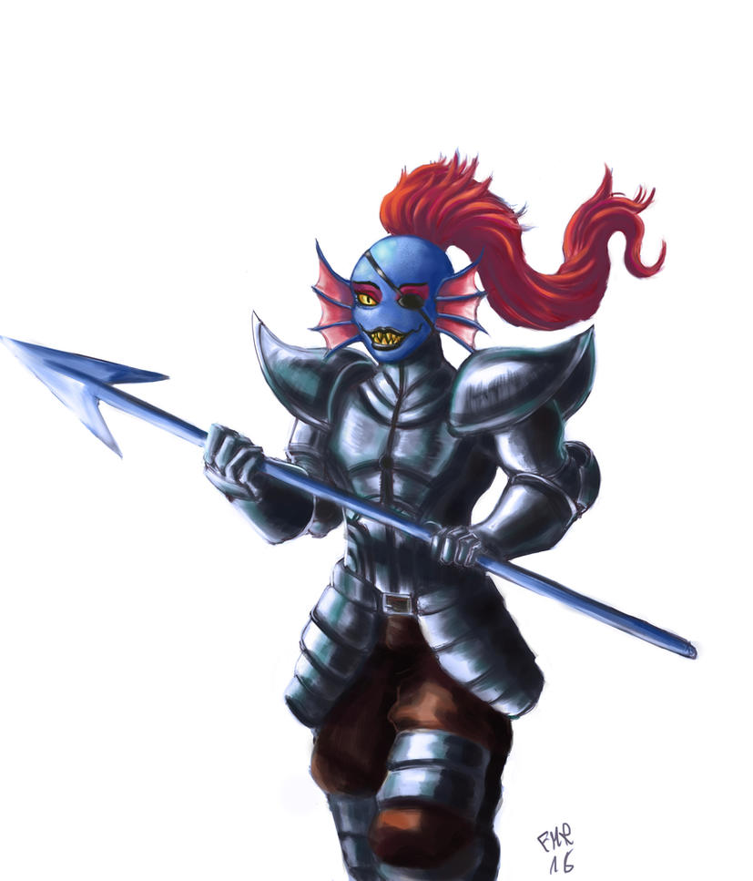 Undyne by FranMR