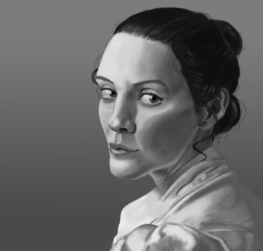 Study- portrait kjslg by FrankMR