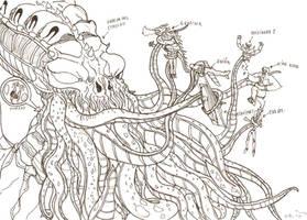 Big Cthulhu by FrankMR