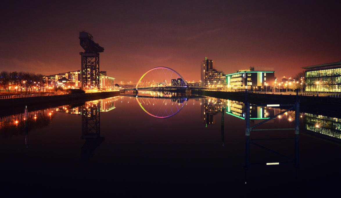 City of Glasgow, Scotland by Tygerhetoric
