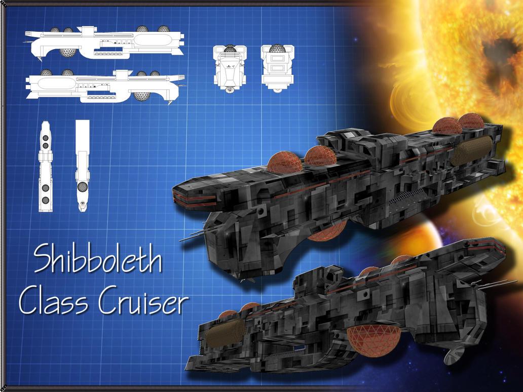 Shibboleth Class Cruiser by Sol-Vector