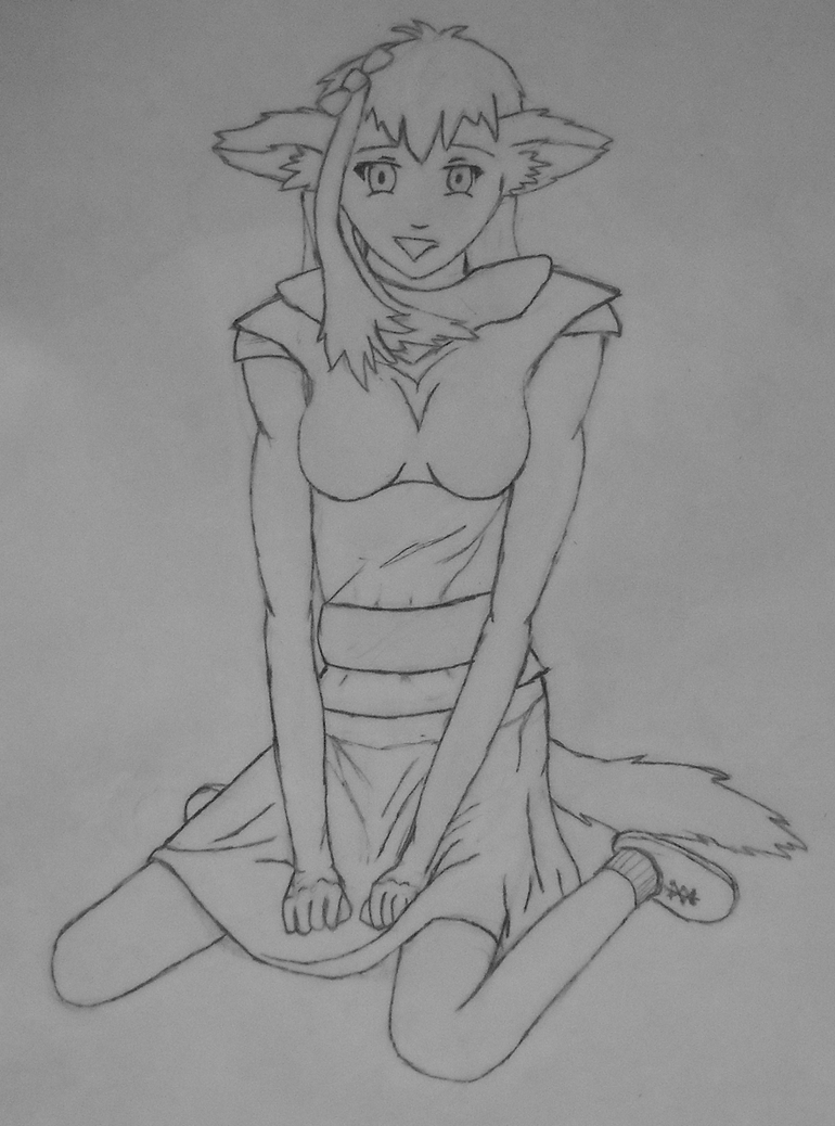 Everyday Art - Whatever month it currently is - Page 13 The_maid_by_seathhwf-d4ea7s7