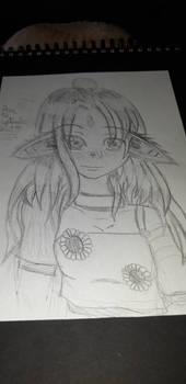 elfic magic art oc