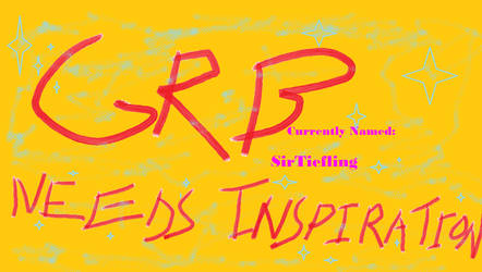 GRB Needs Inspiration!
