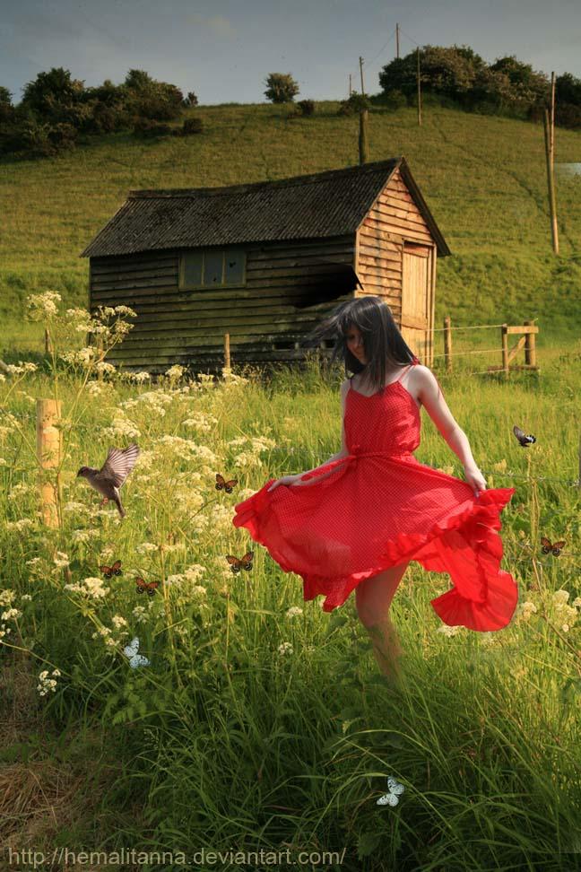 Green Green Grass of Home by hemalitanna