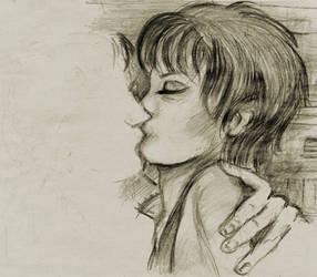 Kissing a stranger by hemalitanna