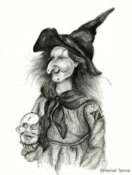 Portrait of a witch