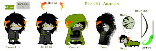Fantroll Reference: Kiniki Anonia by Da-Teal-Penguin