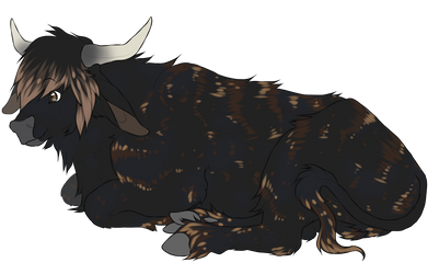 Hooved Fluff Dog[COM] by 5YM1
