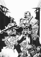 Judge Dredd Heavy Mental by sigma958