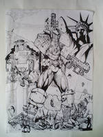 Judge Dredd The Law and Only by sigma958
