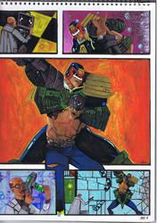 Judge Dredd v Mean Machine 1997 by sigma958