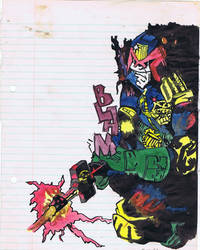 Judge Dredd after Ron Smith 1988 by sigma958