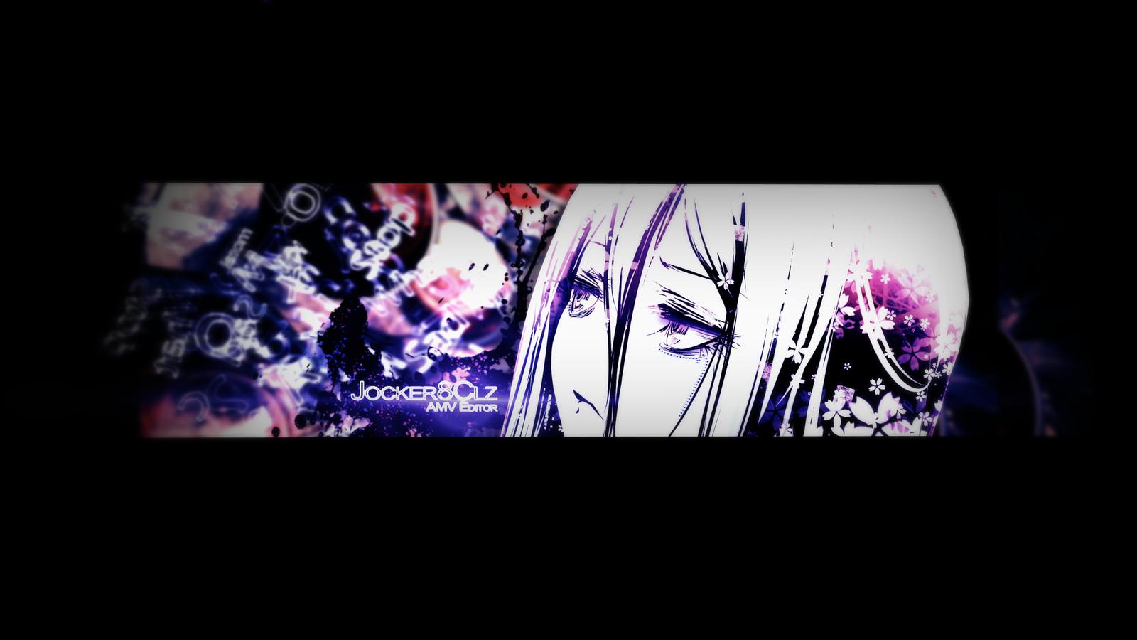 YouTube Anime Banner 3 by Jocker8CLz on DeviantArt
