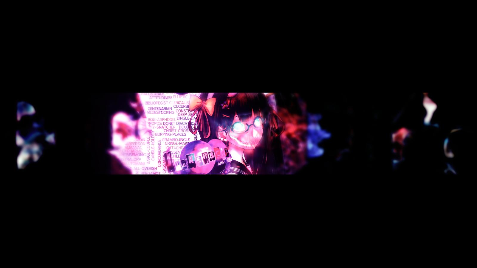 anime youtube banner by jocker8clz anime youtube banner by jocker8clz