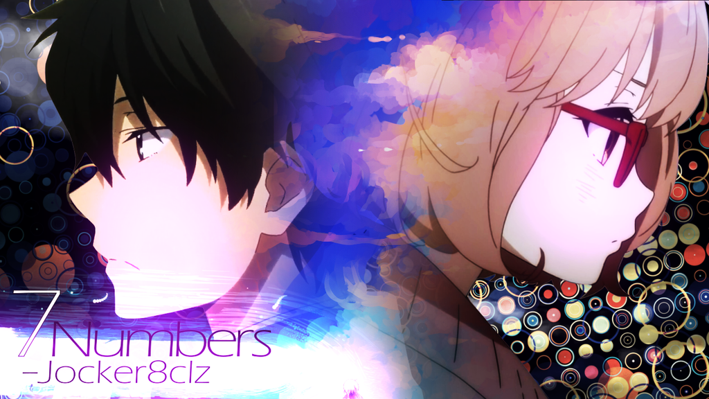 AMV - 7 Numbers ( Thumbnail ) by Jocker8CLz
