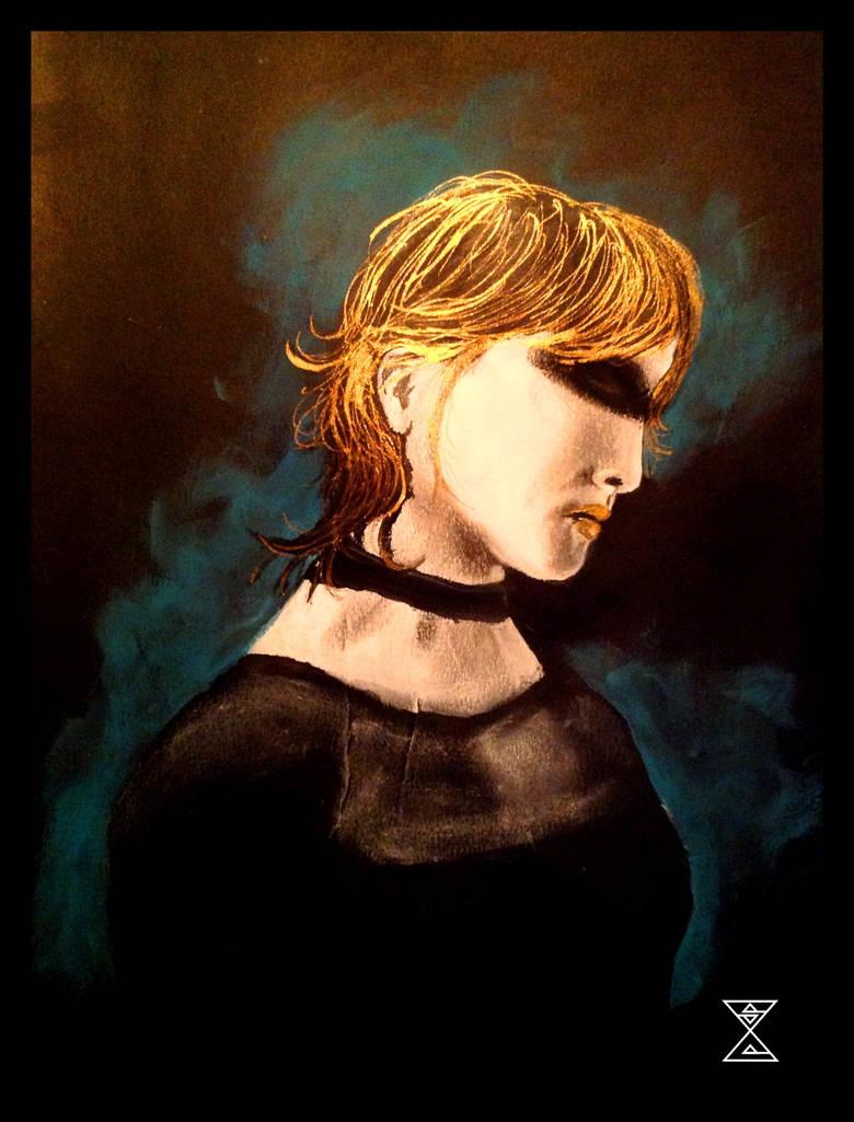 Pris - Awareness of Mortality 2 - Blade Runner by MothvalleySage