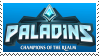 Paladins : Champions of the realm Stamp by SuperSaikai
