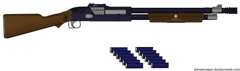 Predator 12 Gauge by GeneralRich