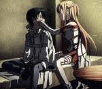 Kirito and Asuna [Sword art online]