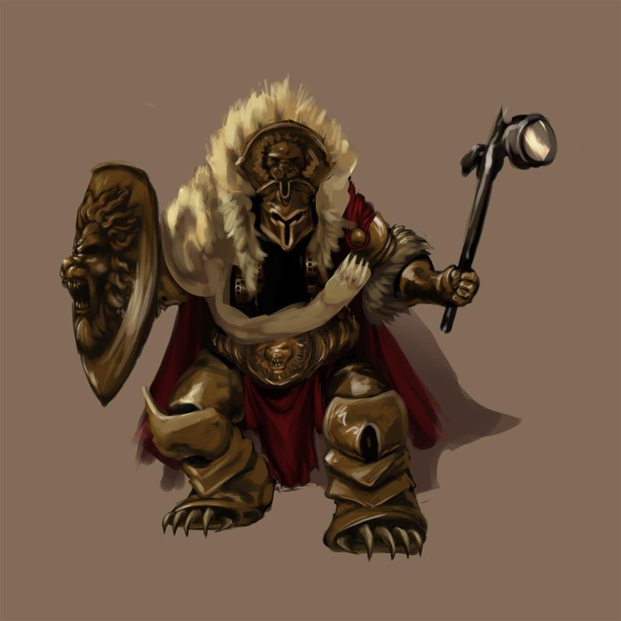 black panther warrior
