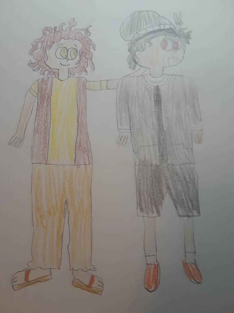 Reece and jose (2018 design) by Jaredthetrain